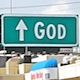 God Billboard in Las Vegas